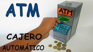 getlinkyoutube.com-Como Hacer Un Cajero Automático Casero De Cartón-Banco Para Niños ATM Juguete Máquina
