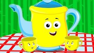 getlinkyoutube.com-I'm a little teapot   nursery rhymes   kids songs   children rhymes