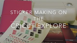 getlinkyoutube.com-How I Make Planner Stickers on My Cricut Explore