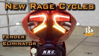 getlinkyoutube.com-Ducati 1299 Panigale Tinkering   Fender Eliminator   Tail Tidy   New Rage Cycles