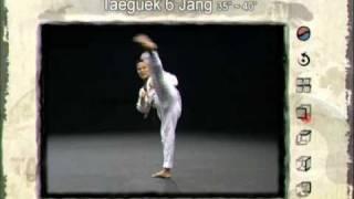 6ο Πούμσε: Τάεγκουκ Γιουκ Τζανγκ (Poomsae Taeguek Yuk Jang)