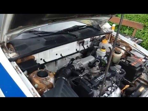 Расположение в Daewoo Леганза ремня генератора