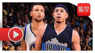 getlinkyoutube.com-Stephen Curry vs Seth Curry BROTHERS Duel Highlights (2016.11.09) Warriors vs Mavericks - SICK!