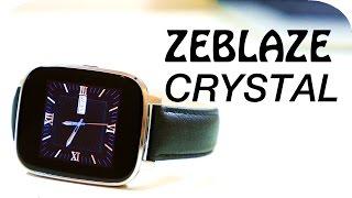 getlinkyoutube.com-Zeblaze Crystal Smartwatch Review   4K