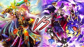 getlinkyoutube.com-Cardfight!! Vanguard G: Gold Paladin (Gurguit/Ezel) Vs. Pale Moon (Harri/Artillery Man)