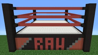 getlinkyoutube.com-Minecraft Tutorial: How To Make A WWE Wrestling Ring