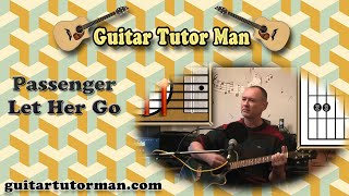 Let Her Go - Passenger  - Acoustic Guitar Lesson