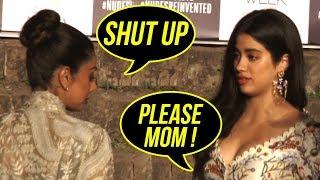 Sridevi SHOUTS At Daughter Janvi Kapoor In Public | LFW | Jhanvi Kapoor