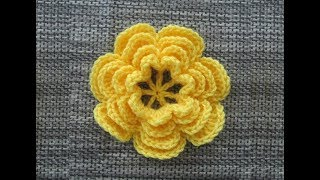 getlinkyoutube.com-How to Crochet a Flower Pattern #5 │by ThePatterfamily
