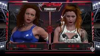 getlinkyoutube.com-CREATED DIVA QUEEN of the Ring WWE 2k16