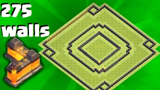 "getlinkyoutube.com-Clash Of Clans | ""NEW"" BEST TOWN HALL 10 (TH10) HYBRID BASE w/275 Walls 