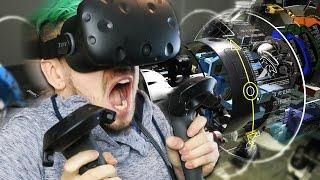 getlinkyoutube.com-THE FUTURE IS NOW! | HTC Vive Virtual Reality