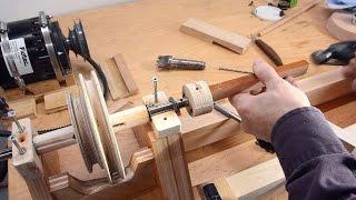 getlinkyoutube.com-Building a lathe from scratch