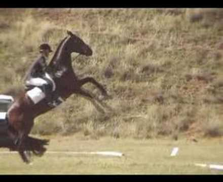cross country jumping falls. Horse Riding Cross Country And