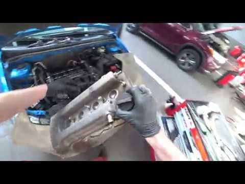 ТЦЛ. Corolla. Замена прокладки клапанной крышки и свечей