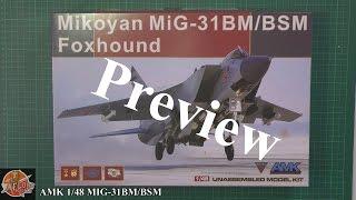 getlinkyoutube.com-AMK 1/48th MIG-31 Foxhound