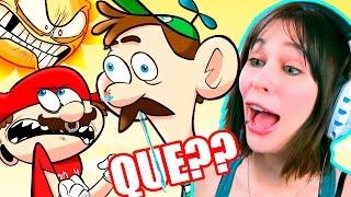 getlinkyoutube.com-LUIGI's DAY OUT - LA VENGANZA DE MARIO VERDE | Video Reaccion