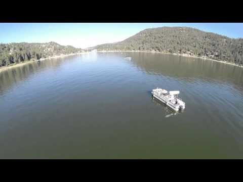 Morning boat ride - Big Bear Lake - August 1, 2014