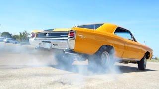 getlinkyoutube.com-Bad 1967 Chevelle SS 700 Horsepower Blown Tangelo USA Muscle Car