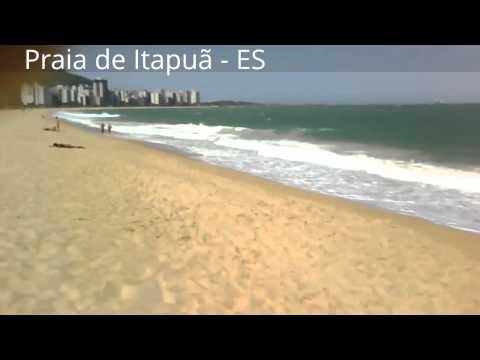 Praia de itapuã 02 - Lindas praias capixabas