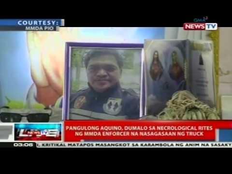 News TV Live: PNoy, dumalo sa necrological rites ng MMDA enforcer na