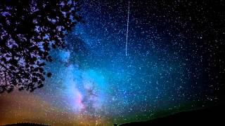 getlinkyoutube.com-Milky Way Galaxy night sky Woodland Park Nikon D800 Time Lapse
