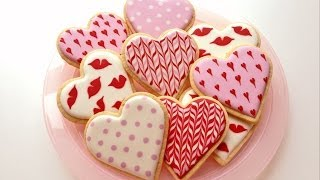getlinkyoutube.com-How To Decorate Cookies for Valentine's Day