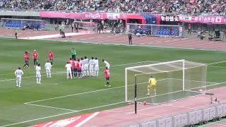 getlinkyoutube.com-ディエゴフォルラン FK 超絶ゴール 現地 大阪ダービー