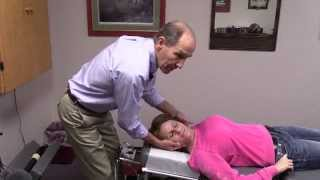 getlinkyoutube.com-Neck Pain Adjustment, Pinellas Park Florida Best Chiropractor, Back Pain