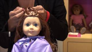 getlinkyoutube.com-Saige Gets Her Hair Styled at American Girl® Place San Francisco