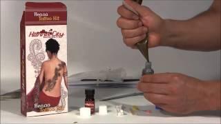 getlinkyoutube.com-Mehndi: Henna Tattoo Kit tutorial