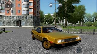 getlinkyoutube.com-City Car Driving 1.5.3 Delorean DM-12 Gold [G27]
