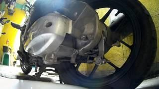 Honda Click 125 Gear oil change