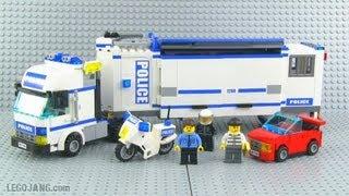 getlinkyoutube.com-LEGO City Mobile Police Unit 7288 review!