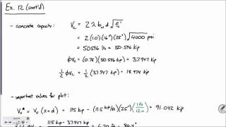 CE 413 Lecture 21*: Shear Design of R.C. Beams [cont'd] (2016.03.15)