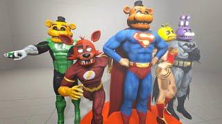 getlinkyoutube.com-New Justice League * DC Animatronic Super Heroes   FNAF SFM