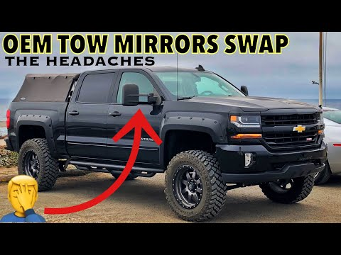 2017 Silverado Tow Mirrors Install, Modifying Harness to have turn signals working