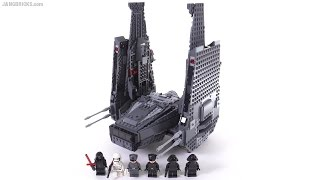 getlinkyoutube.com-LEGO Star Wars Kylo Ren's Command Shuttle review! 75104
