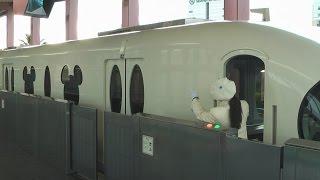 getlinkyoutube.com-[ディズニーリゾートライン]ベイサイド・ステーション発車(女性車掌)(Nov.21,2014)