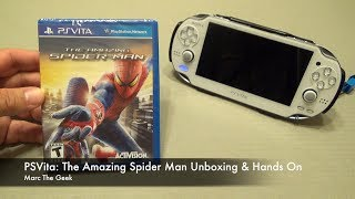 getlinkyoutube.com-PSVita: The Amazing Spider Man Unboxing & Hands On