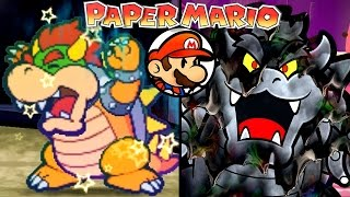getlinkyoutube.com-Paper Mario ALL FINAL BOSSES 2001-2016 (Wii U, 3DS, N64)