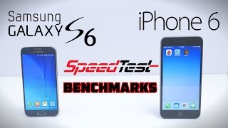 getlinkyoutube.com-Galaxy S6 vs iPhone 6/6 Plus - Full Speedtest + Benchmark
