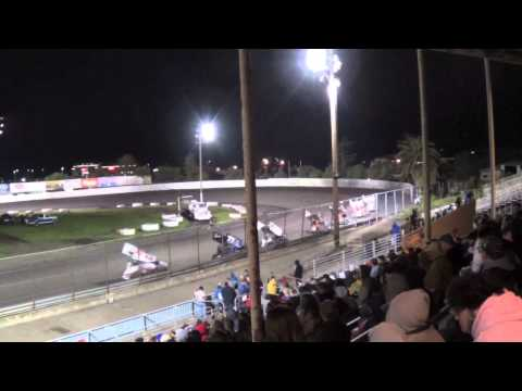 Geoff Ensign wins Round 1 of PitStopUSA Sprint Car Series