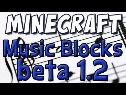 Minecraft: Musical Boxes! (1.2 Beta Update Part 5)