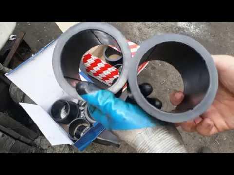 Визуальный обзор пластиковых(гро днамид) втулок балансира КАМАЗ. Росстар и Элемент!