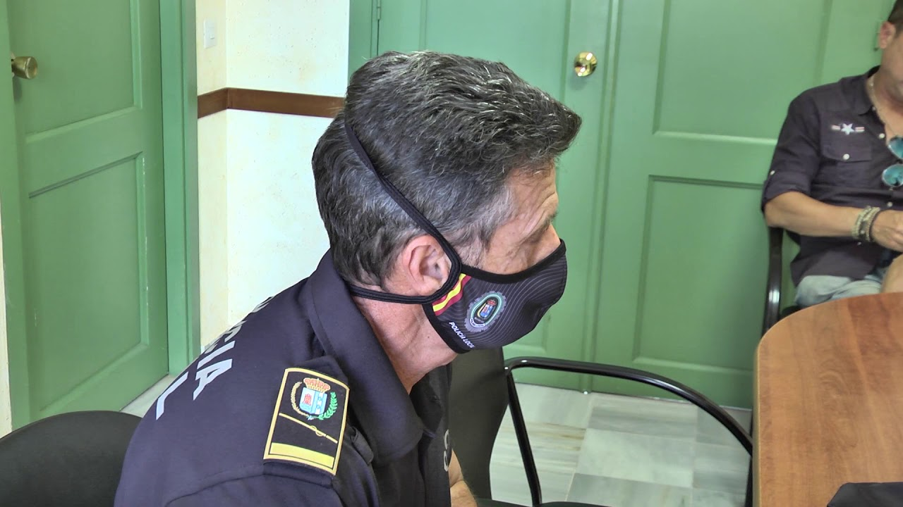 Incesante actividad de la policía local