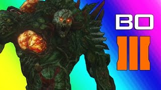 getlinkyoutube.com-Black Ops 3 Zombies: Zetsubou No Shima - Spider Boss! (Funny Moments & Gameplay)