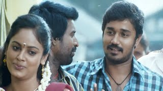 getlinkyoutube.com-Michael - Soori Comedy @ Election Booth - Nalanum Nandhiniyum Tamil  Movie Scene