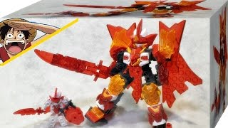 getlinkyoutube.com-텐카이나이트 버닝 브레이븐 시그마 모드 리뷰 tenkai knights hyper dx figure h-001 braven wolf