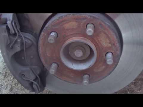 Замена опорного подшипника и пружины на Ford C Max